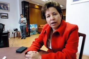 Alcaldesa del municipio de Ixtapaluca, Maricela Serrano Hernández. Foto: Tomada de Reforma