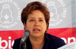 """La edil Maricela Serrano lideró la campaña """"Ayúdanos a encontrarlo"""" para saber del paradero de su padre. Foto: Tomada de Reforma"""