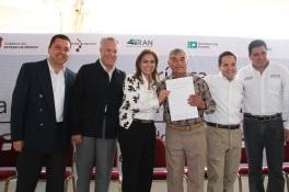 Los gobiernos federal, estatal y local suman trabajo para cumplir con  compromisos, dijo Sandra Méndez