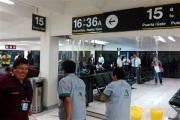 Sala del aeropuerto de la Ciudad de México