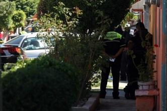 Calle Río de Luz Sección 31, donde fue encontrada una maleta conteniendo un cuerpo desmembrado. Foto: Tomada de Reforma