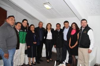 Sandra Méndez invitó a todas y todos los jóvenes a acercarse al deportivo Toltitlan y a los deportivos cercanos a su domicilio