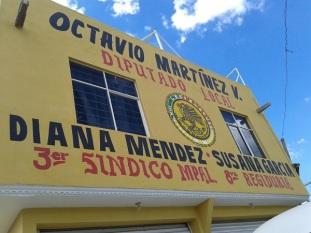 Oficina de Atención Ciudadana en la comunidad de La Laguna Chiconautla