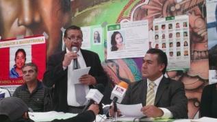 """David Mancera Figueroa, presidente de la asociación civil, """"Solidaridad con las Familias"""". Foto: Jorge Villa"""