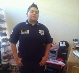 Nancy Bermúdez Vega, adscrita al grupo Venus del área de Tránsito de la dirección de Seguridad Ciudadana y Vial de Ecatepec. Foto; Especial