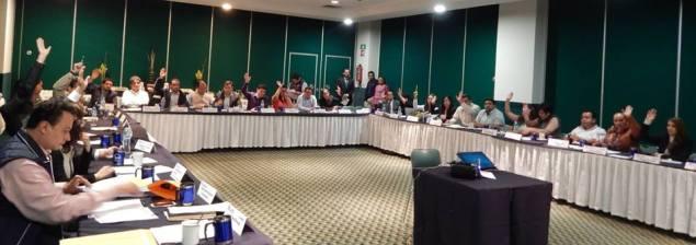 Durante su XII Sesión Ordinaria del Comité Directivo Estatal, sus integrantes aprobaron por unanimidad el nombramiento de Velázquez Amador