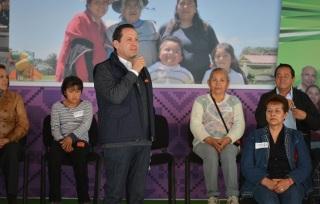 El gobernador Eruviel Ávila reconoció al Congreso de la Unión por la reciente aprobación del Paquete Económico 2015. Foto: GEM