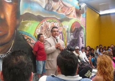 Porque los delitos siguen a la alza, el diputado Octavio Martínez, presidente de la Comisión de Seguridad Pública en la Legislatura mexiquense, convoca a la población a la Marcha Contra la Inseguridad que se realizará el próximo 16 de noviembre. Foto: CSFPI
