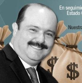 DEMANDADO. Gobernador de Chihuahua, César Horacio Duarte Jáquez. Foto: Facebook