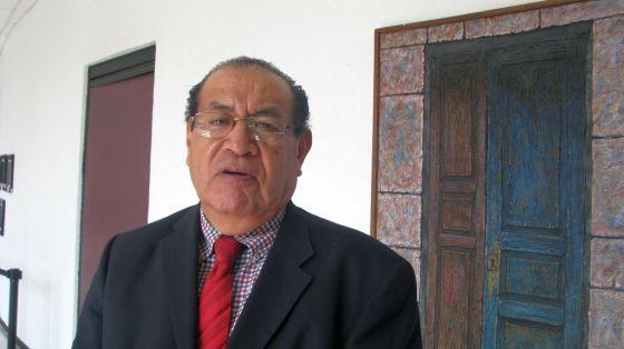 El presidente de la UNAI, Ing. Arq. Eduardo Sánchez Anaya dice que la organización considera a Enrique Fernández Fassnacht poco idóneo para dirigir el IPN en este momento, donde el diálogo es indispensable. Foto: Difunet