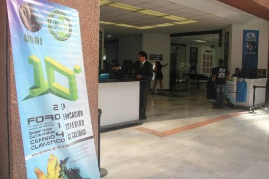Durante tres días expertos en cambio climático y desarrollo sustentable compartieron sus conocimientos en el 10º Foro Internacional Ciudad de México, Desarrollo Sustentable y Cambio Climático, cleebrado en las instalaciones de la Rectoría de la UAM