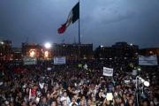 El zócalo de la ciudad de México el pasado 20 de noviembre. Foto: Reforma/archivo