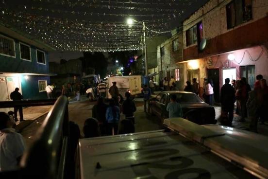 Testigos informaron a la policía haber escuchado una balacera a las 20:00 horas sobre la Calle 9 casi esquina con la Calle de Hierro. Foto: Tomada de Reforma