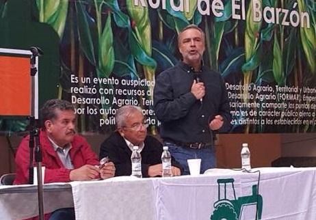 Dirigente nacional de El Barzón, Alfonso Ramírez Cuéllar. Foto: Cortesía