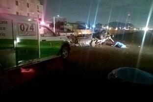 Las autoridades indagarían si momentos antes habría ocurrido algún percance con un vehículo pesado. Foto: Tomada de Reforma