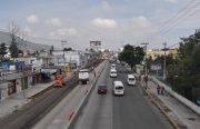 YA MERITO. La Línea 2 del Mexibús sigue inconclusa aunque esta gráfica sea de agosto de 2013. En septiembre de 2013 se dijo que las obras quedarían concluidas en marzo de 2014. Foto: Archivo/Jorge Villa