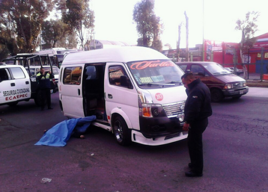 Pese al aumento de operativos policíacos y en particular en el transporte público en este  municipio, hoy otro pasajero fue acribillado en Ecatepec. Foto: Tomada de reporterosenmovimiento