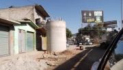 En la autopista México-Pachuca, muy cerca del pueblo de San Pedro Xalostoc, en Ecatepec. Foto: Jorge Villa
