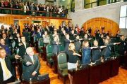 Al mediodía rindieron su protesta de rigor los congresistas de la LIX Legislatura
