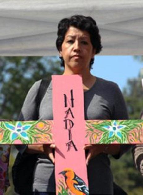 María Antonia Márquez detalló a la comitiva de la CIDH que las autoridades judiciales extraviaron dentro de las propias instalaciones de la Procuraduría mexiquense elementos de prueba; luego incinerarían toda evidencia en el lugar de los hechos. Foto: CIMAC